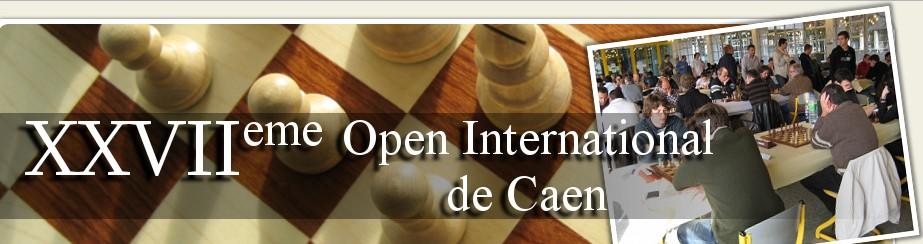 25 joueurs du club présent à l'Open International de CAEN