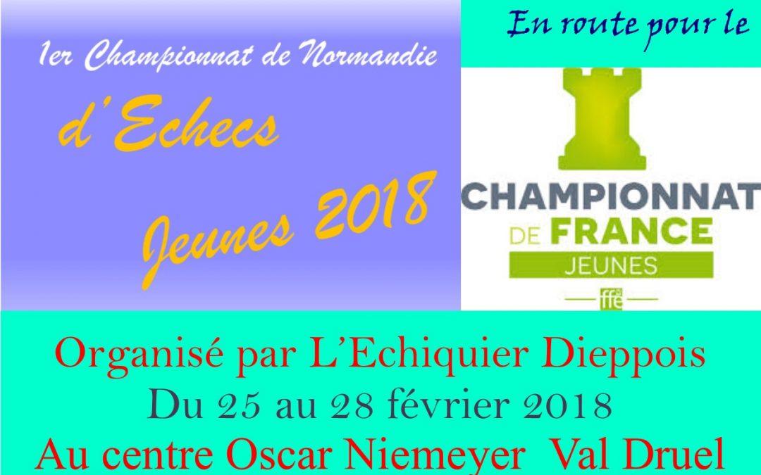 Championnat de Normandie jeunes à Dieppe