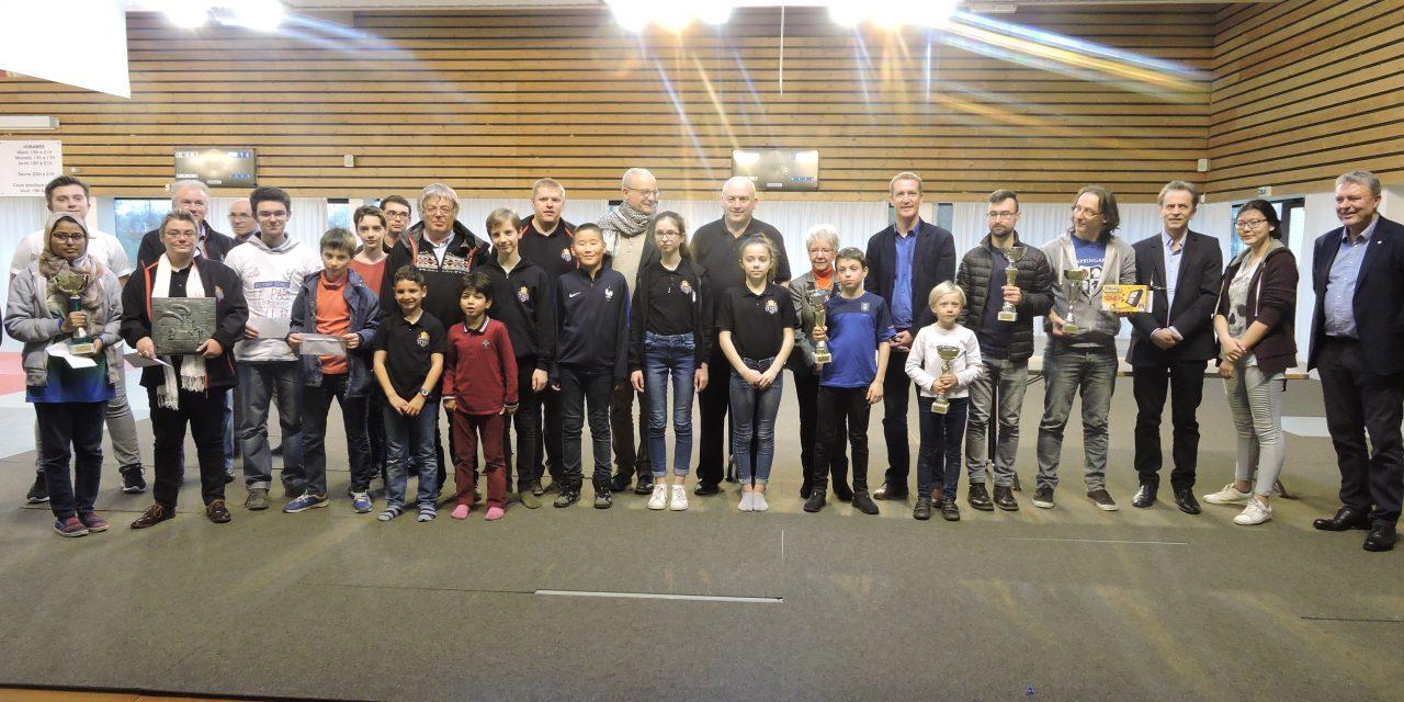 Open de Gonfreville Trophée Claude Leroyer : Victoire de FEDORYSHYN Ievgenii dans l'open principal et de BELLOSTHE Lilian dans l'open jeunes