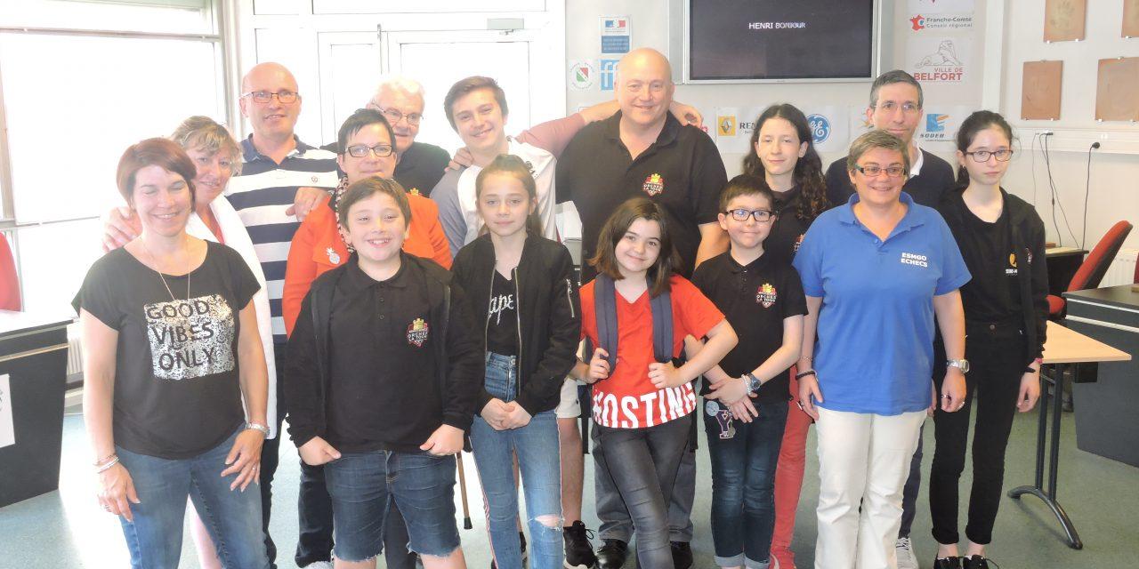 OPEN DE BELFORT : belle délégation du club chez nos amis Belfortains