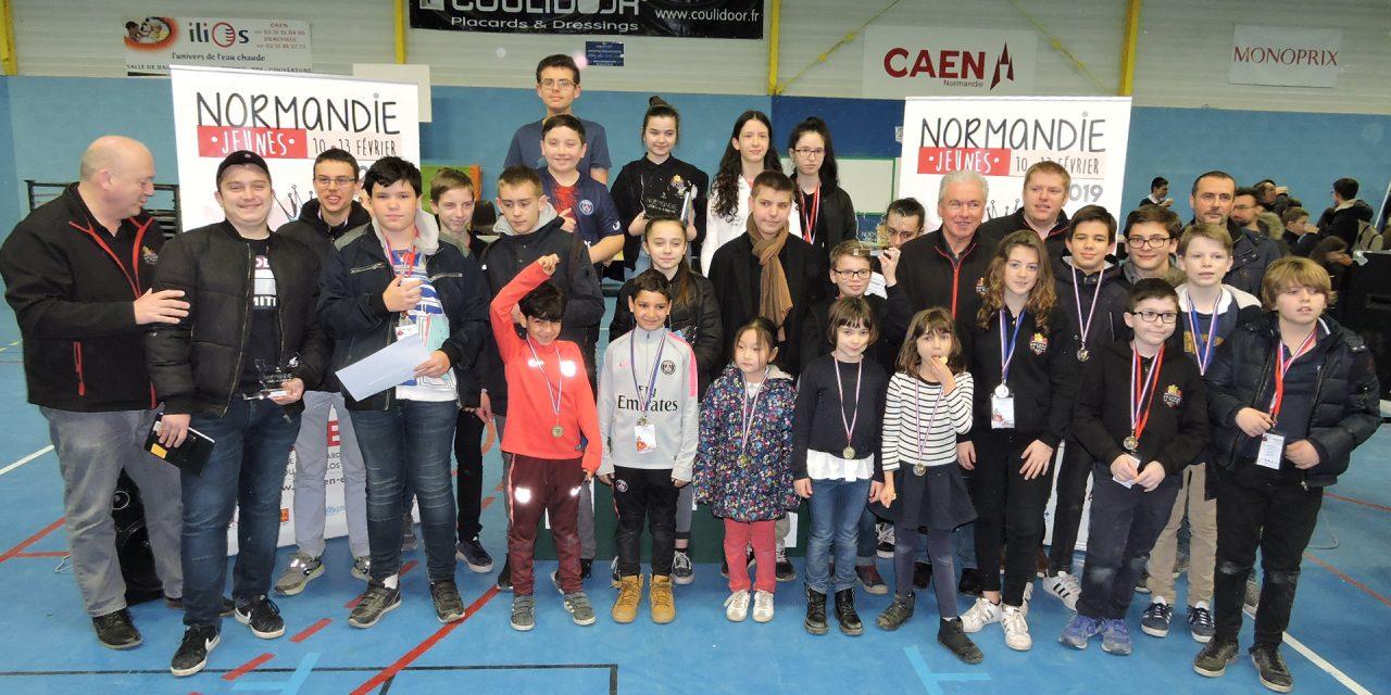 Championnat de Normandie jeunes : 3 championnes et 15 qualifiés pour le championnat de France