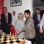 Vive émotion lors du gâteau d'anniversaire des 50 ans de l'Open