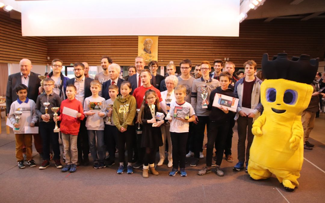 Maxime MARIE remporte le 50ème Open Trophée Claude Leroyer