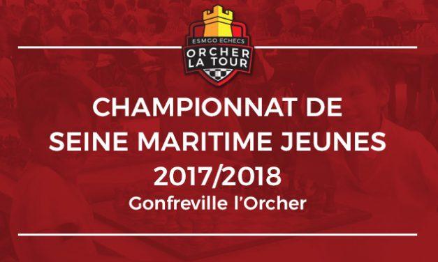 Championnat de Seine Maritime Jeunes 2017/2018