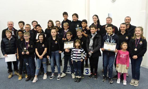Championnat de Normandie jeunes : 2 titres et 13 qualifiés pour le chpt de France