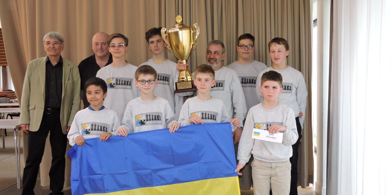 Match International jeunes : Victoire sans surprise de Kiev (Ukraine)