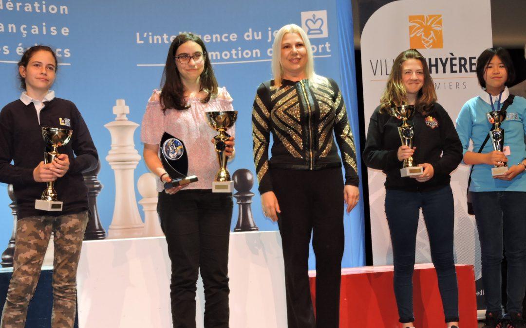 Camille sur la 3ème marche du podium au championnat de France !!
