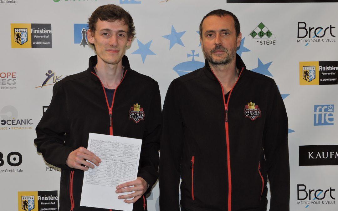 Norme de Maître International pour Sven Charmeteau lors du Top 12