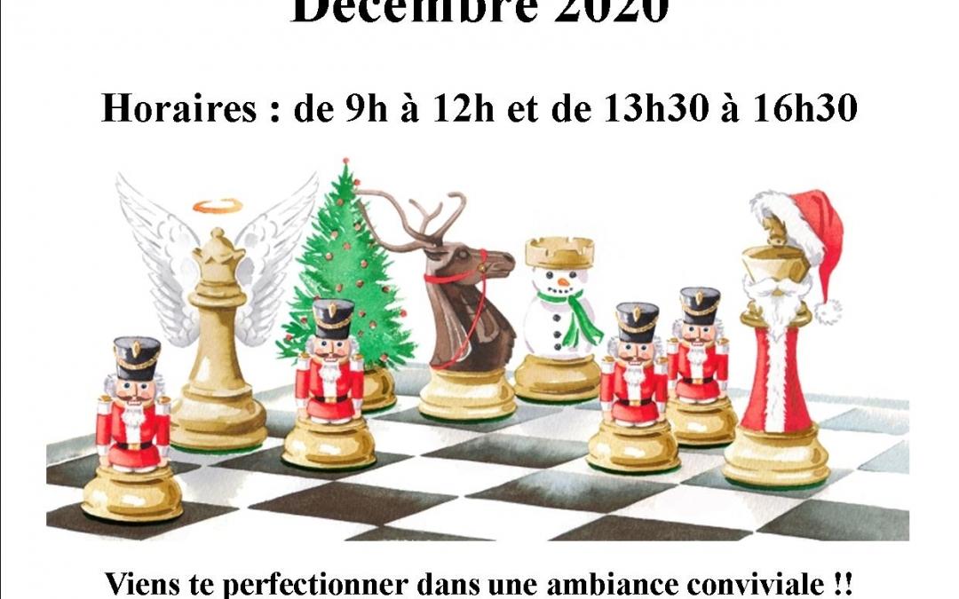 Stage jeunes de Noël les 28 et 29 décembre